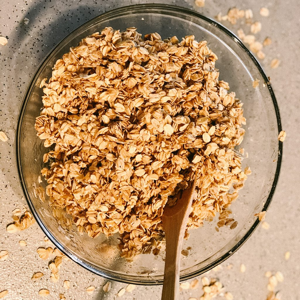 granola looking yummy
