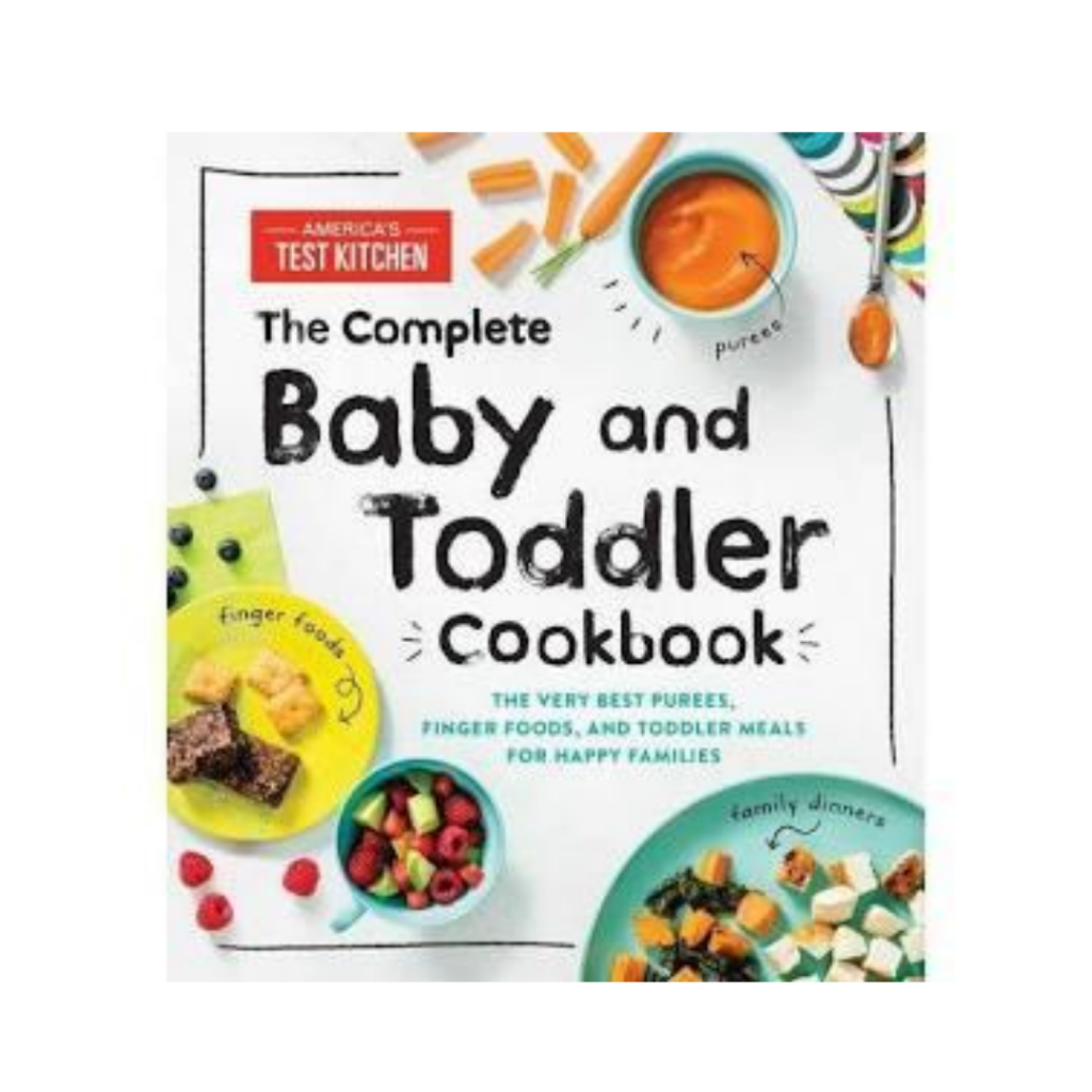 America's Test Kitchen baby and toddler cookbook