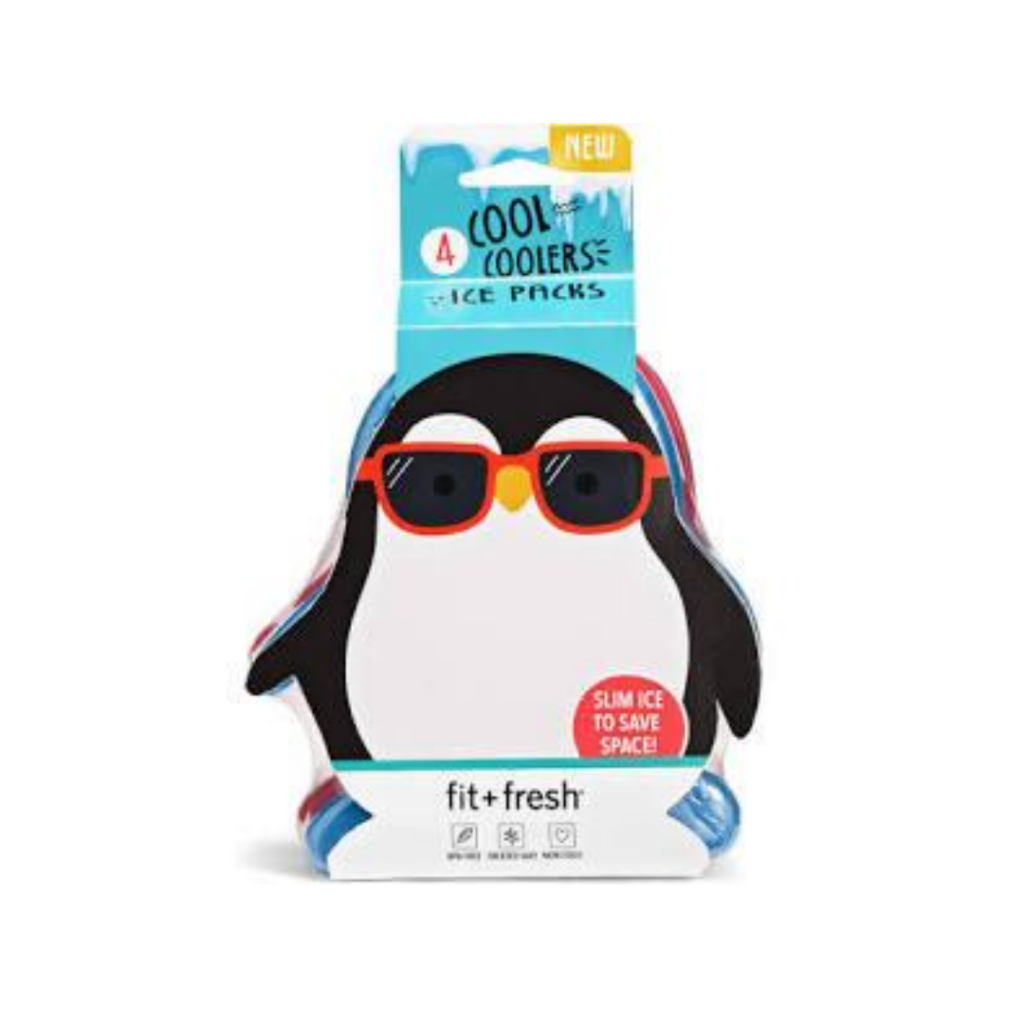 penguin shaped ice packs for a lunch box