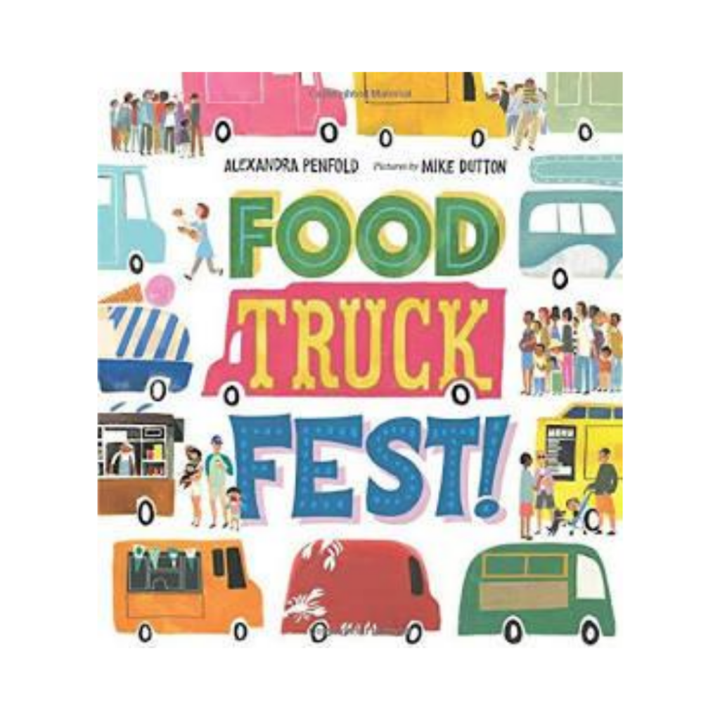 food truck fest children's book cover