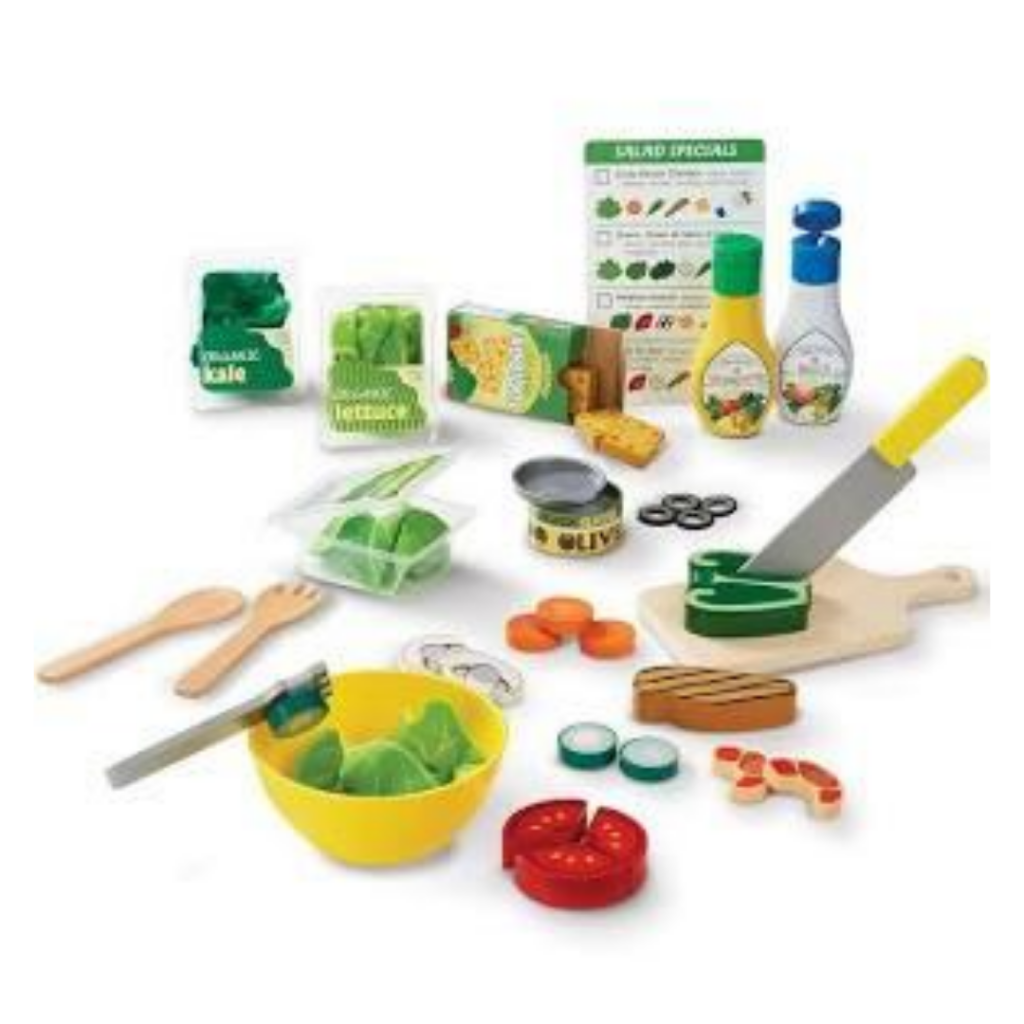 play salad kit for little kids