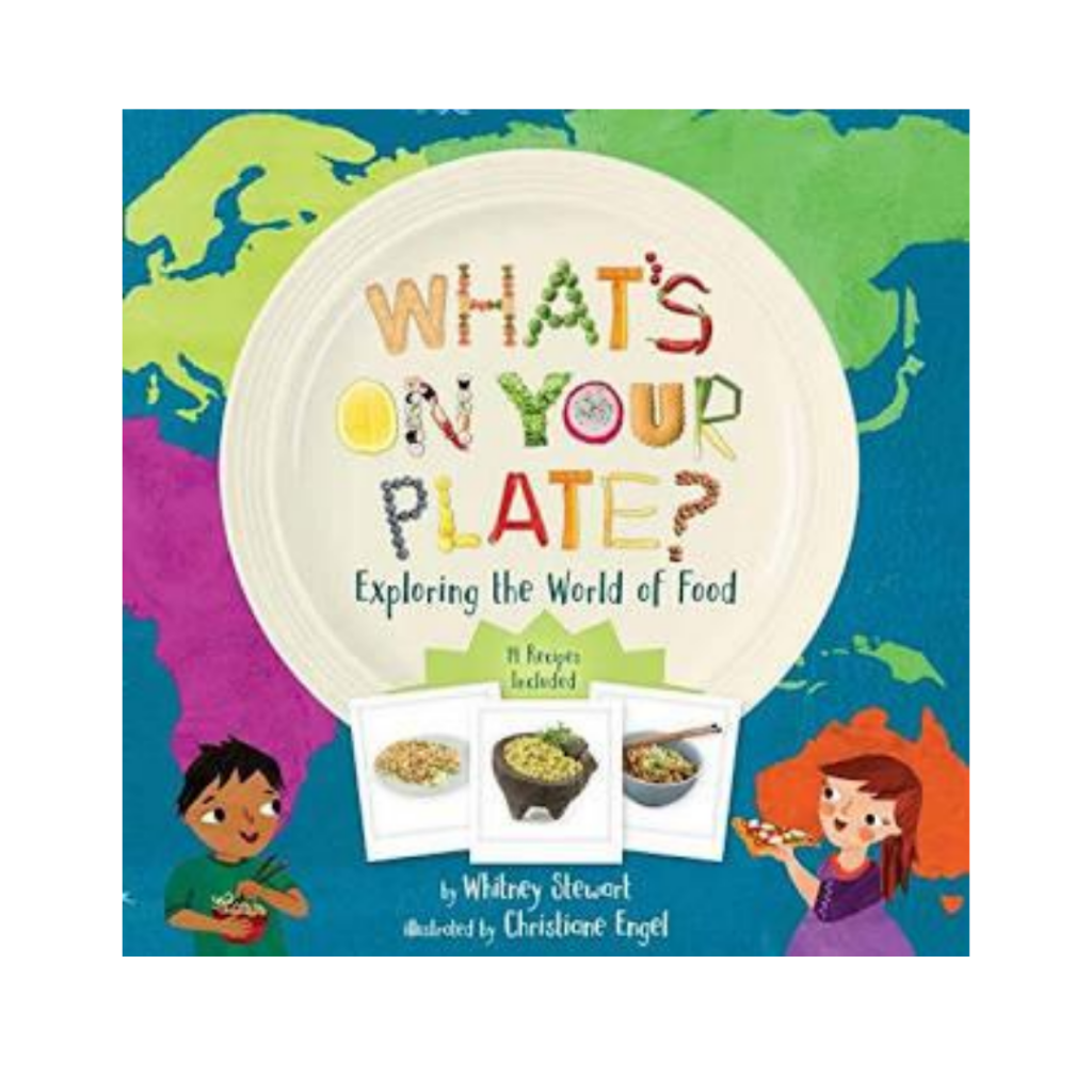 whats on your plate picture book with recipes