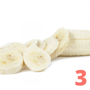 picture of sliced bananas